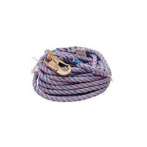 Web Devices Vertical Rope Lifeline With (2) Snap Hooks -  100 ft L -  Polyester Line