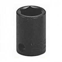 Wright Tool 3818 SAE Standard Length Shape II Impact Socket -  9/16 in Socket -  3/8 in Drive -  1-1/8 in OAL -  Alloy Steel