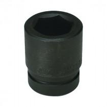 Wright Tool 8840 SAE Standard Length Shape II Impact Socket -  1-1/4 in Socket -  1 in Drive -  2-17/32 in OAL -  Alloy Steel