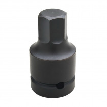 Wright Tool 8240 SAE Impact Bit Socket -  1 in Drive -  1-1/4 in Bit -  Hex Tip -  5 in OAL