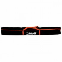 ZipWall® (CB1) Dust Wall Barrier Carry Bag -  5 ft L -  For Use With Dust Barrier System Poles -  Polyester -  Black/Red Trim