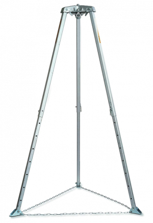 Miller Rescue and Confined Space Tripod, 7-ft, Aluminum Alloy