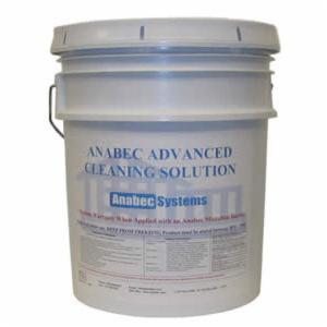 Anabec ANA1020 Advanced Cleaning Solution -  5 gal Pail -  Faint Ammonia -  Liquid -  Clear