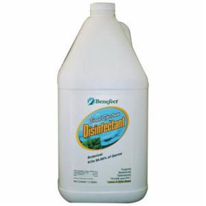 Benefect® BENDISINF Botanical Disinfectant Cleaner -  1 gal -  Lemon/Spice -  Liquid -  Light Tan/Hazy