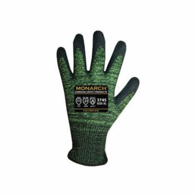 Cordova 3745XL High Performance Gloves -  XL -  Polyurethane Palm -  Green/Black -  13 ga Soft-Spun Taeki5® Fabric
