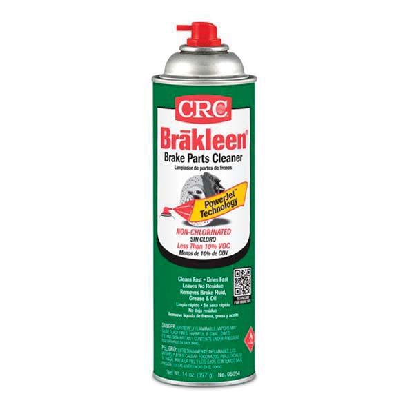 CRC® 05054 Non-Chlorinated Brake Parts Cleaner -  20 oz Aerosol -  Liquid -  Clear -  Solvent