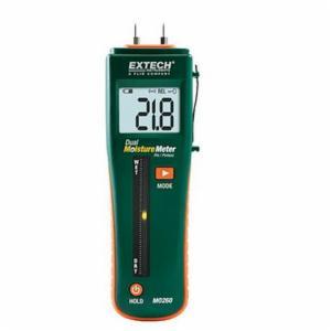 EXTECH® MO260 Combination Pin/Pinless Moisture Meter -  6 - 94.8% WME (Pin) -  0 - 99.9% Relative (Pinless) Moisture Content