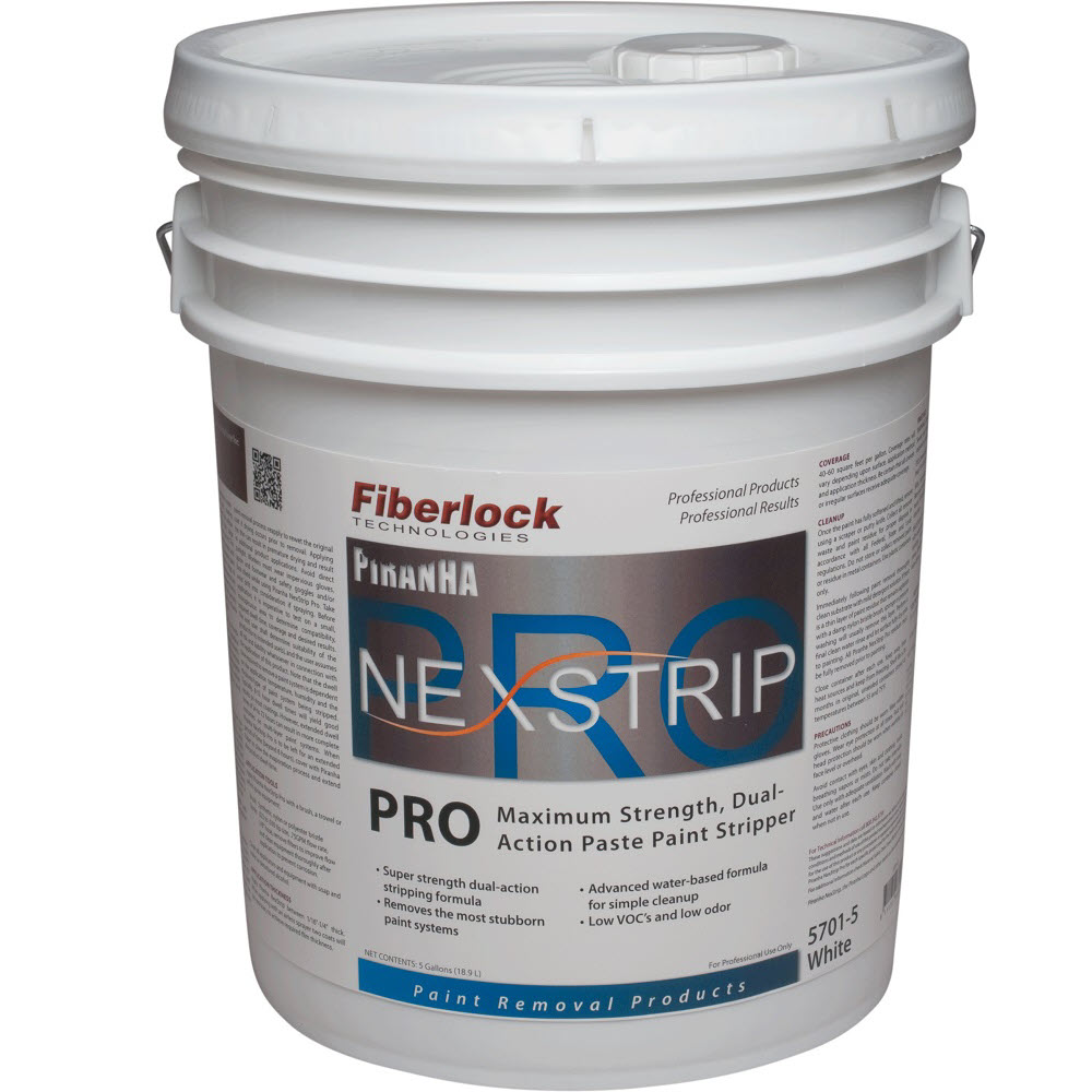 Fiberlock 5701-5 Water Based Paint Remover -  5 gal -  White