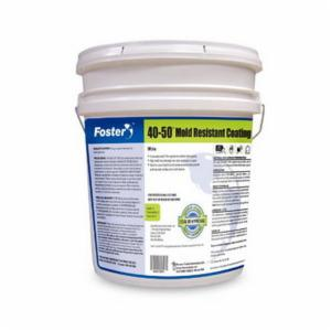 Foster® FOS4050 Low Viscosity Mold Resistant Coating -  5 gal -  Liquid -  White -  300 sq-ft/gal