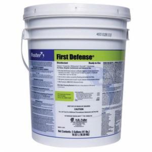 Foster® FOS4080 Disinfectant -  5 gal Pail -  Fragrant -  Citrus -  Liquid -  Light Green