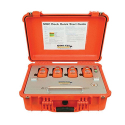 Gas Clip Multi-Gas Clip Dock -  Rechargeable Lithium-Ion Battery Power Source -  For Use With All MGC Monitors