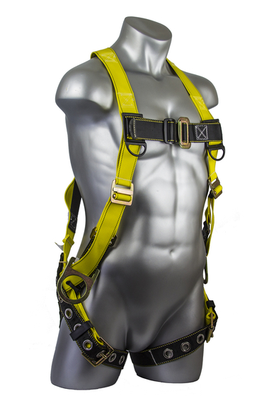Seraph Full-Body Harness, Tongue Buckle Leg Straps, Side D-Rings, MD/LG