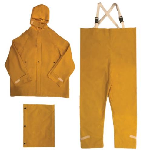 Ironwear (9207-Y) Hydroblast 3-Piece Rainsuit, Yellow