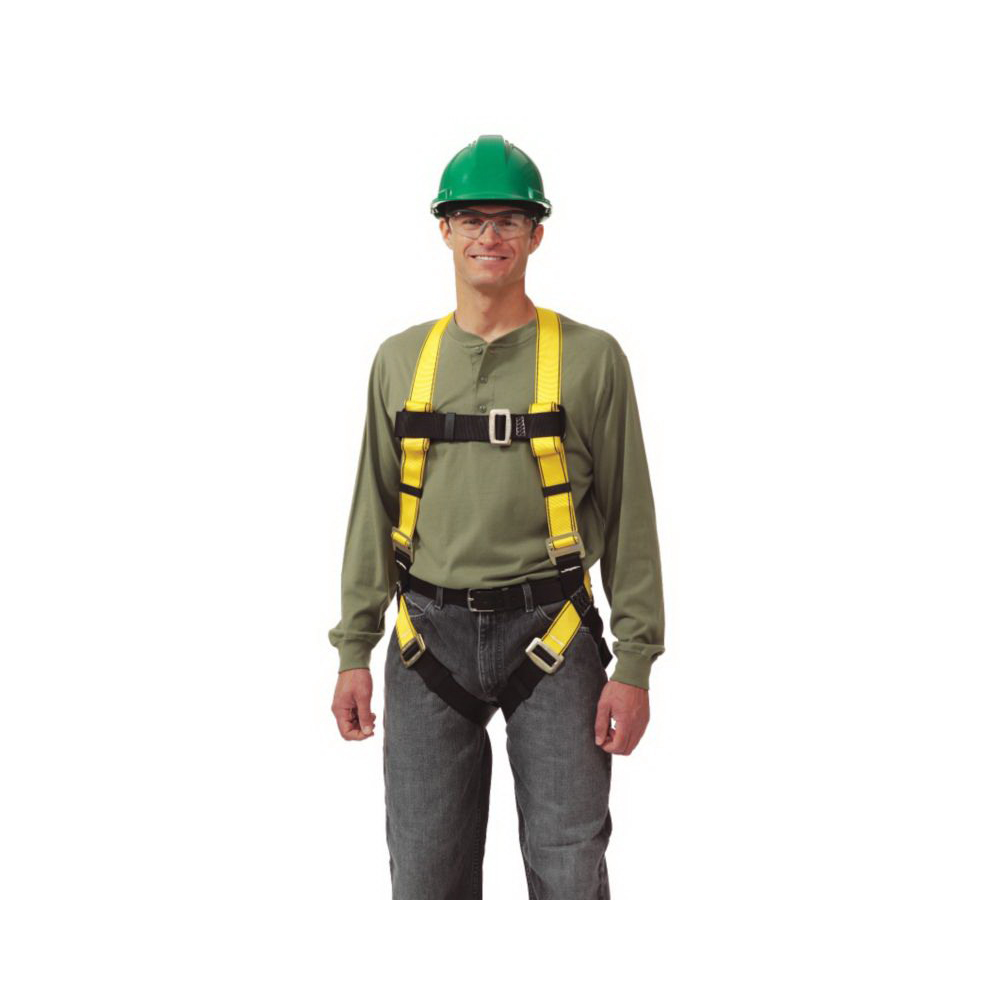 Workman® 10072479 Harness -  Standard -  400 lb -  Yellow -  Polyester Strap