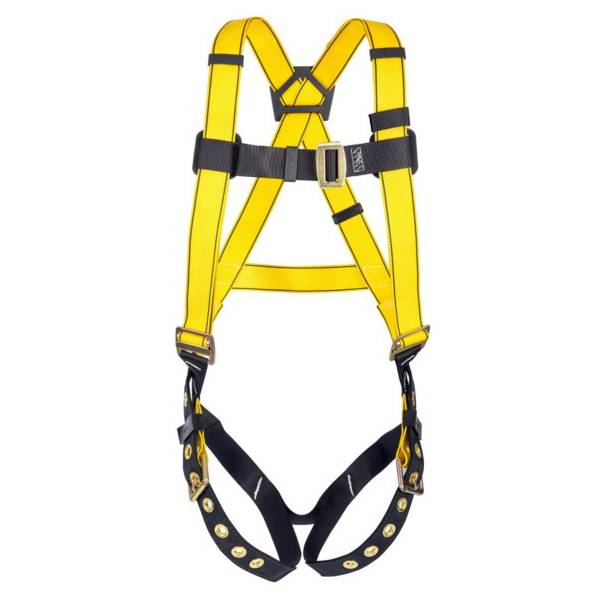 Workman® 10072491 Harness -  Standard -  400 lb -  Yellow -  Polyester Strap