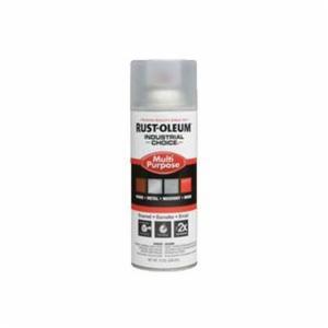 Industrial Choice® 1610830 Multi-Purpose Enamel Spray Paint -  12 oz -  Liquid -  Crystal Clear -  12 - 15 sq-ft/Can