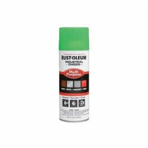 Industrial Choice® 1632830 Multi-Purpose Enamel Spray Paint -  12 oz -  Liquid -  Fluorescent Green -  12 - 15 sq-ft/Can