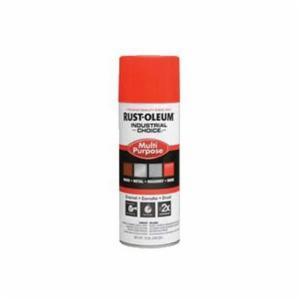 Industrial Choice® 1655830 Multi-Purpose Enamel Spray Paint -  12 oz -  Liquid -  Fluorescent Red-Orange -  12 - 15 sq-ft/Can