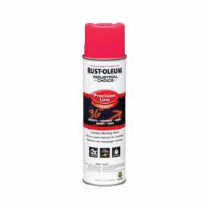 Rust-Oleum® M1600 Precision Line Solvent Base Inverted Marking Paint -  17 oz -  Liquid -  Fluorescent Pink