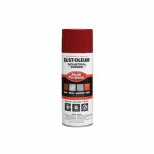 Industrial Choice® 1666830 Multi-Purpose Enamel Spray Paint -  12 oz -  Liquid -  Banner Red -  12 - 15 sq-ft/Can
