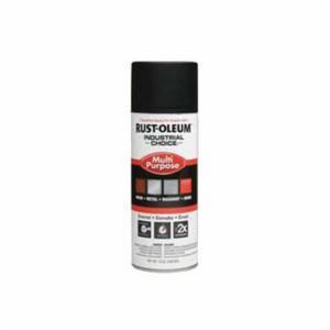 Industrial Choice® 1676830 Multi-Purpose Enamel Spray Paint -  12 oz -  Liquid -  Black -  12 - 15 sq-ft/Can