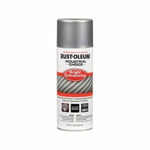 Industrial Choice® 244305 Galvanizing Compound Spray Paint -  14 oz -  Liquid -  Bright -  12 - 15 sq-ft/Can