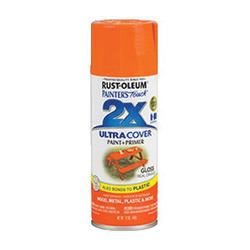 Ultra Cover 2x 249095 Enamel Spray Paint 6 per CS -  12 oz -  Liquid -  Real Orange -  8 - 12 sq-ft/Can