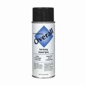 Rust-Oleum® V2404830 Economical Enamel Spray Paint -  16 oz -  Liquid -  Black -  5 - 8 sq-ft
