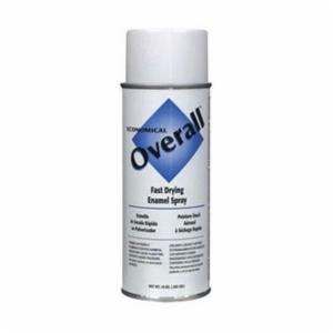 Rust-Oleum® V2405830 Economical Enamel Spray Paint -  16 oz -  Liquid -  White -  5 - 8 sq-ft