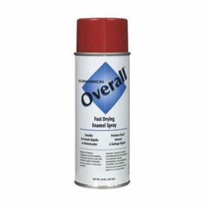Rust-Oleum® V2407830 Economical Enamel Spray Paint -  16 oz -  Liquid -  Red -  5 - 8 sq-ft