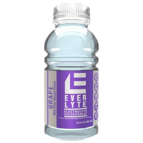 Sqwincher® EverLyte™ Ready-to-Drink, 12oz Widemouth Bottles