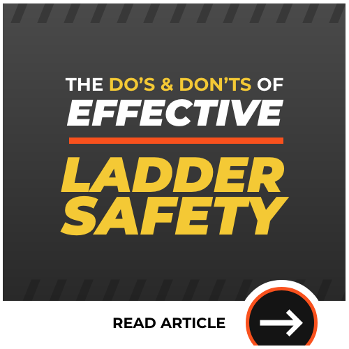 The Do's and Don'ts of Effective Ladder Safety