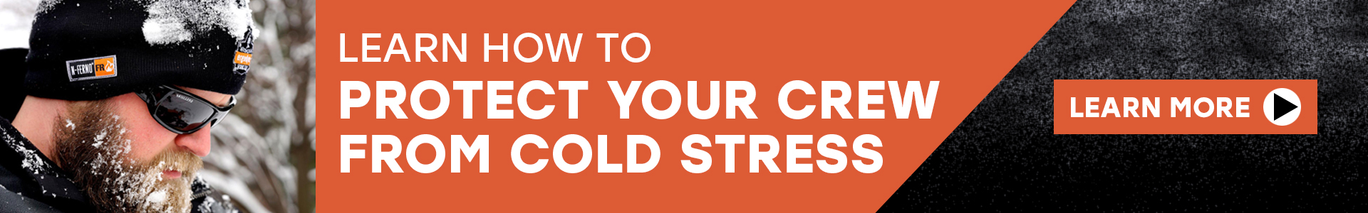 Cold Stress Banner